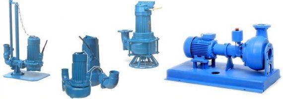 Robot pumps - type RW / DWP